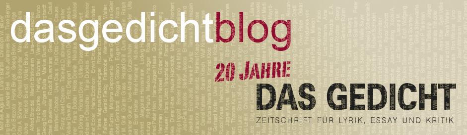 20 Jahre DAS GEDICHT (2012)