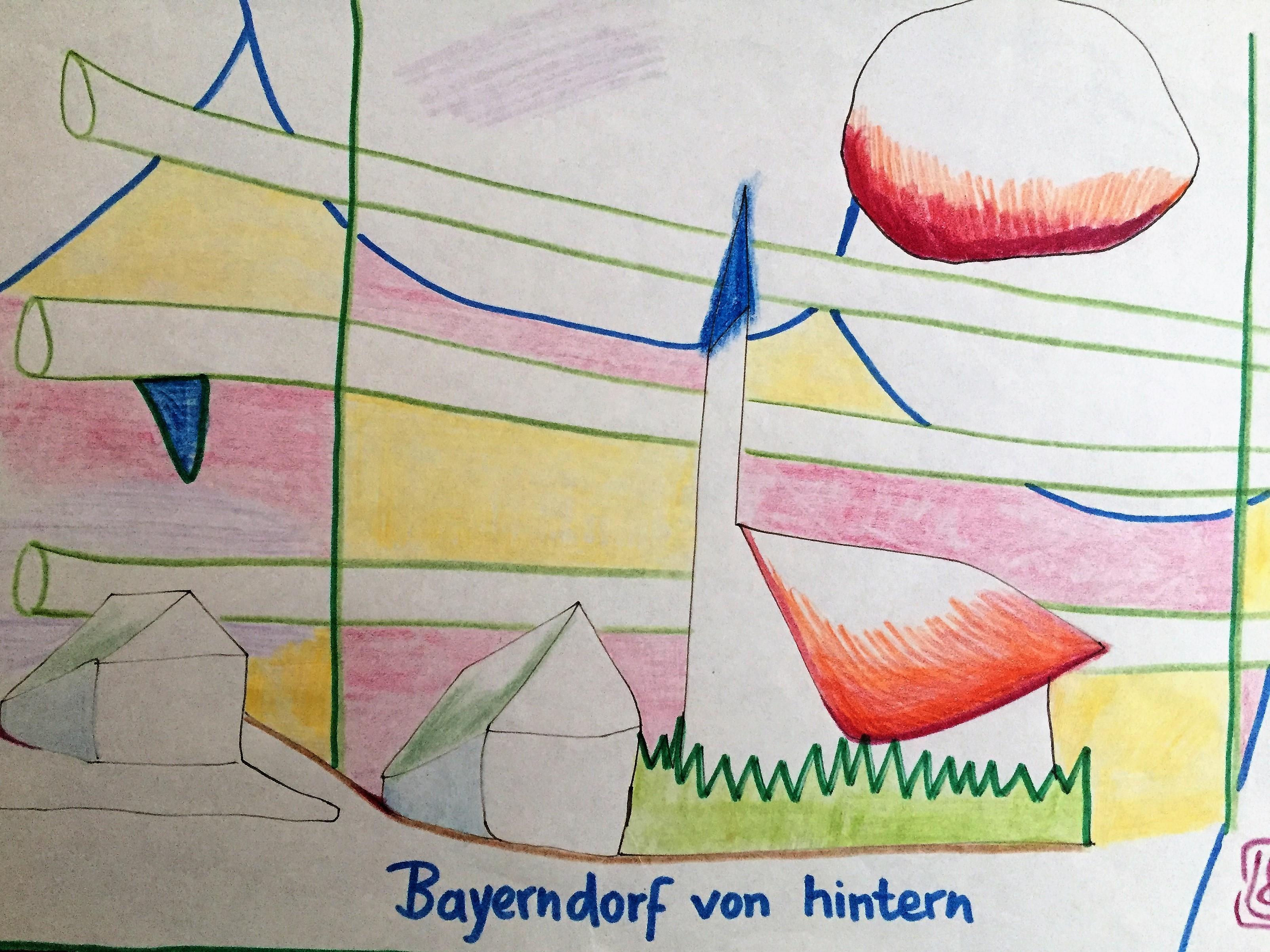 Bayern von hintern 1986