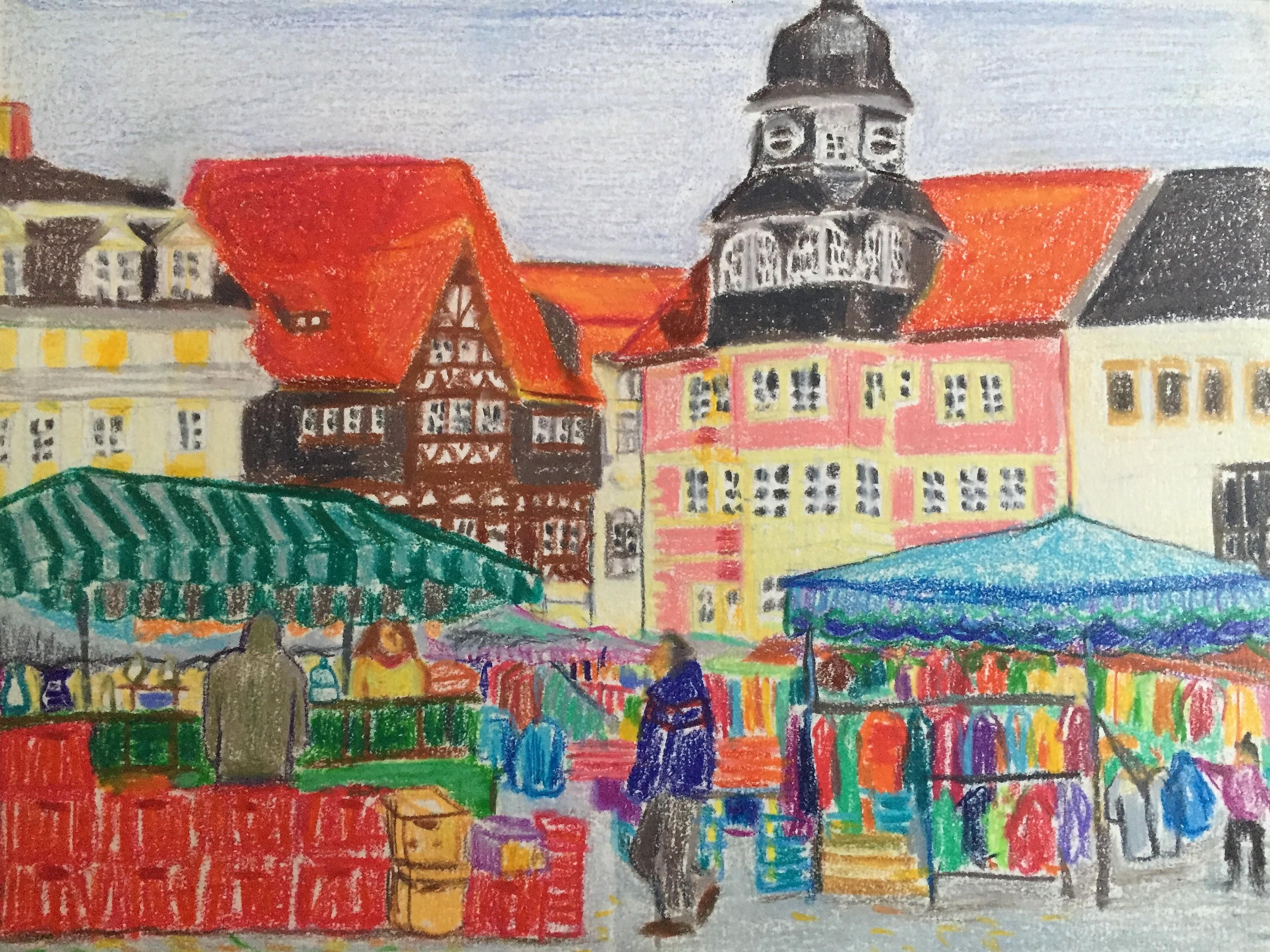 Eisenacher Marktplatz 1997