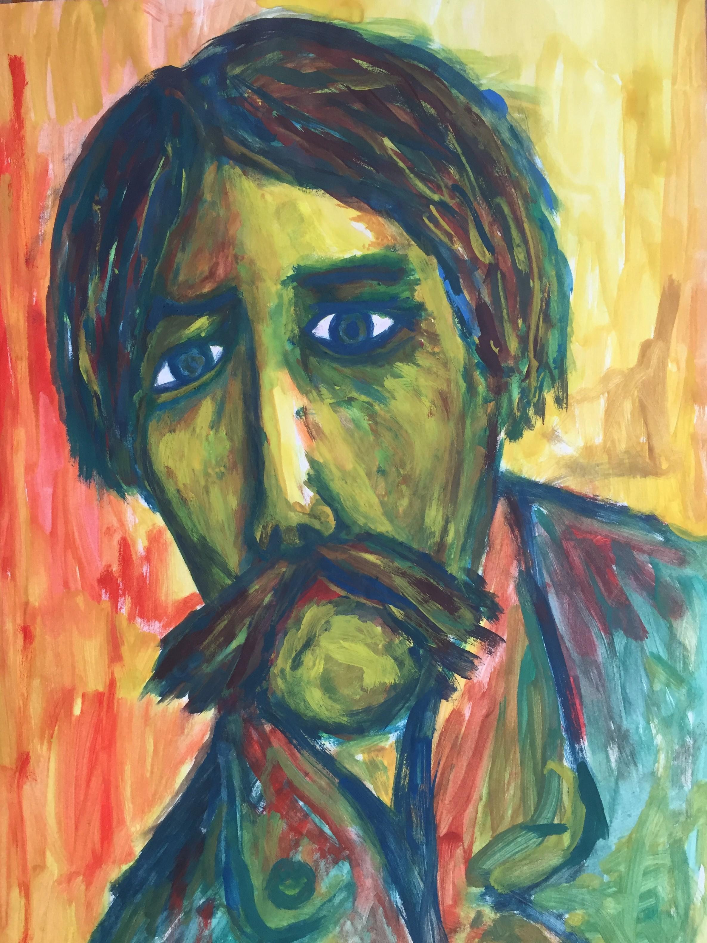 Trauriger Mann 1974