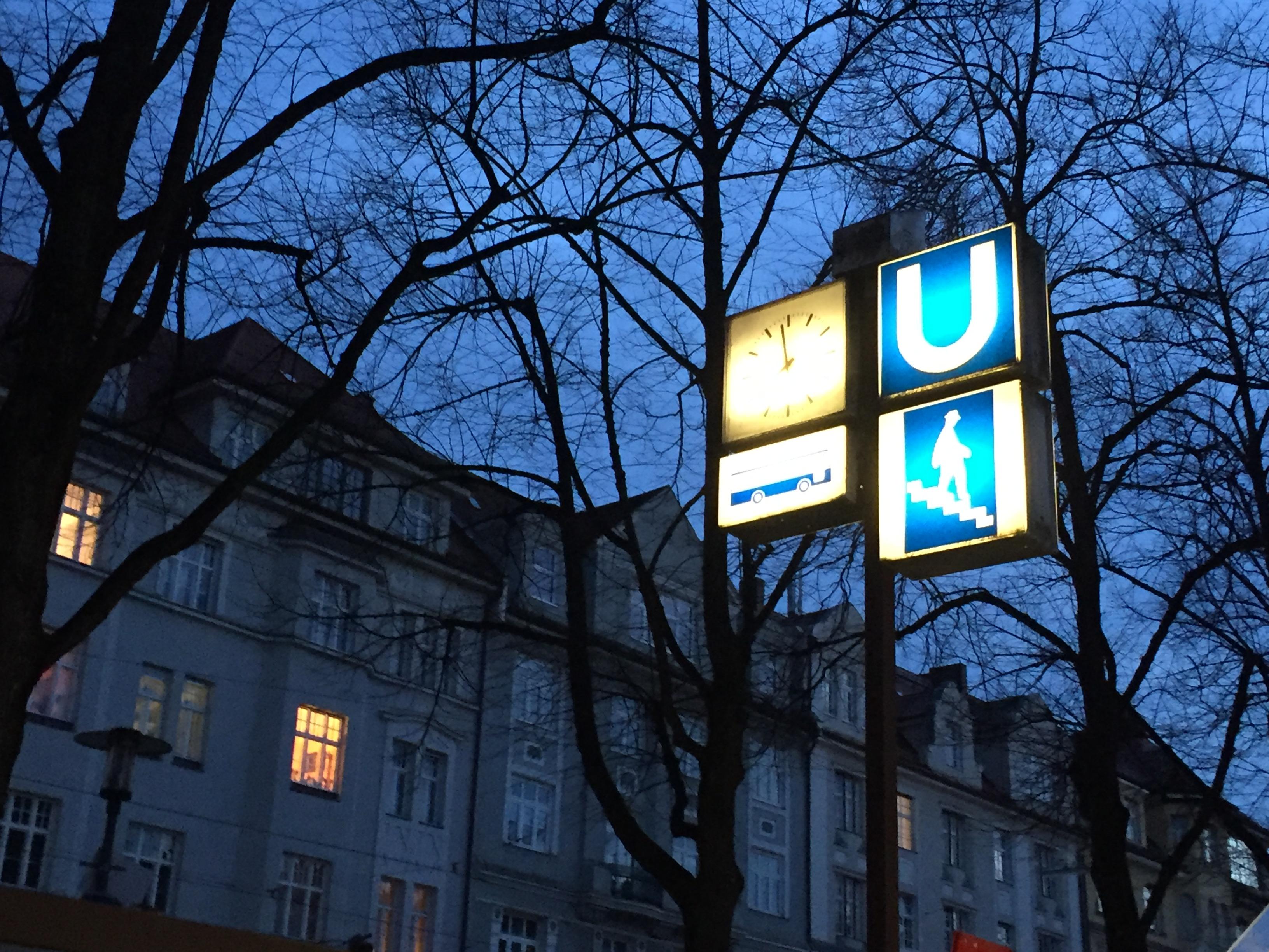 UBhf. Hohenzollernplatz