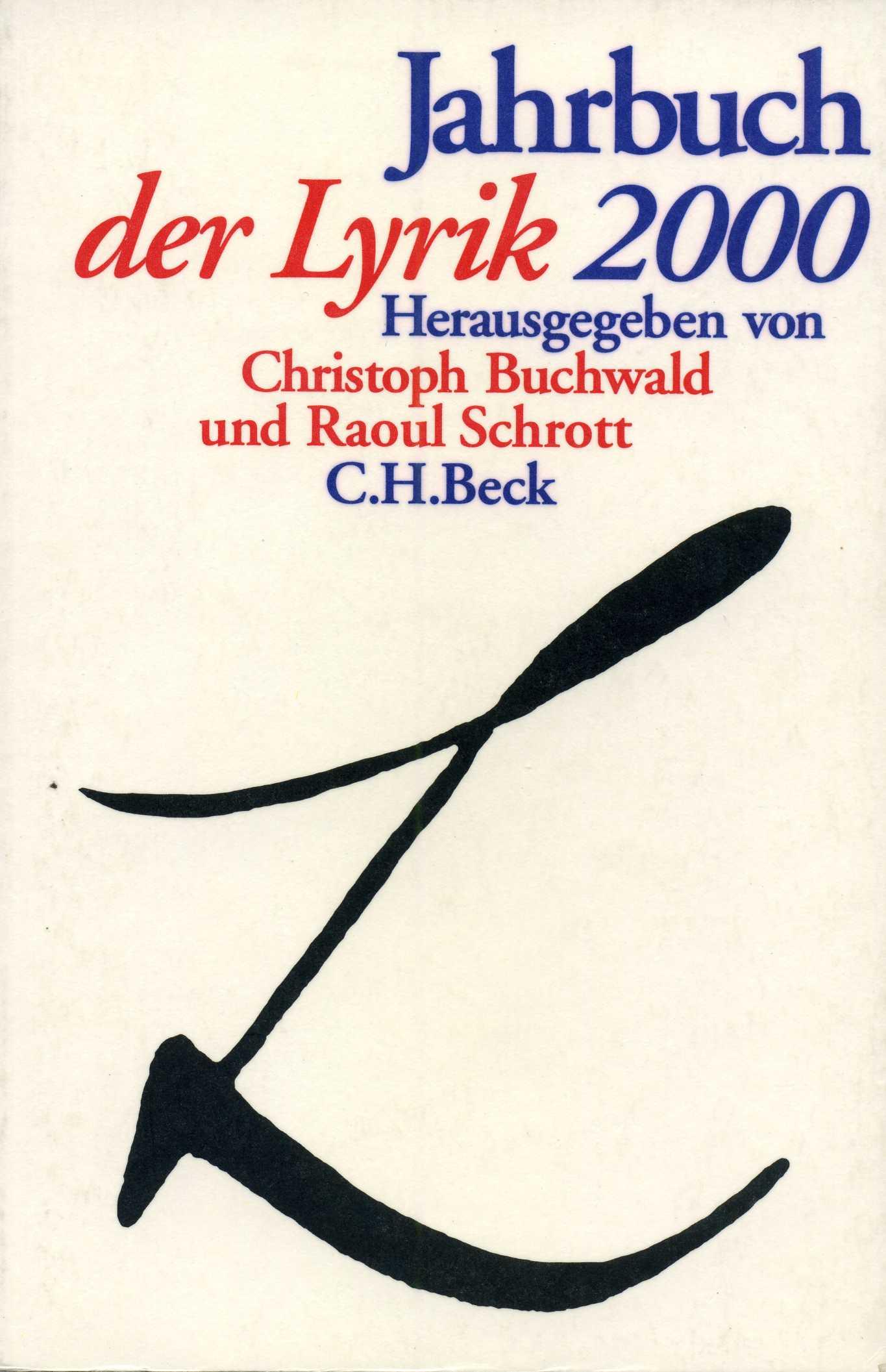 Jahrbuch der Lyrik 2000