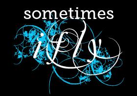 Sometimes I Fly - Logo