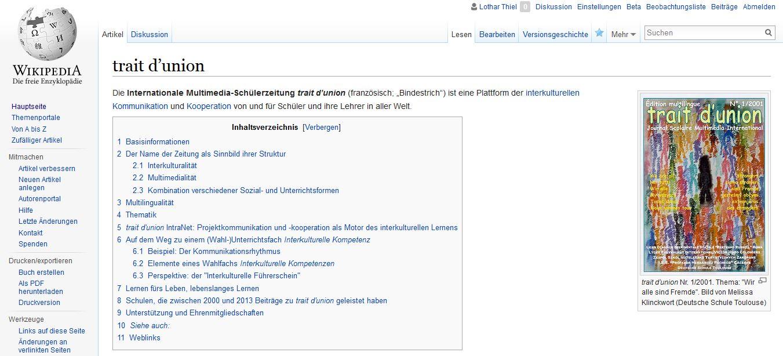 tdu on Wikipedia 2006-08